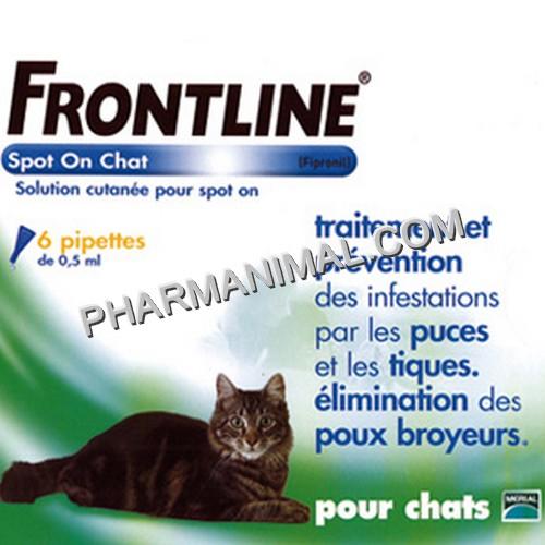 Frontline chat 6 pipettes carabiens le forum - Frontline combo chat 6 pipettes ...